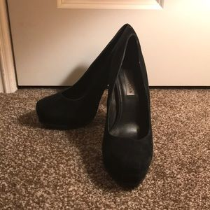 Steve Madden pumps with chunky heel